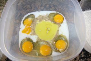 Egg wash prep