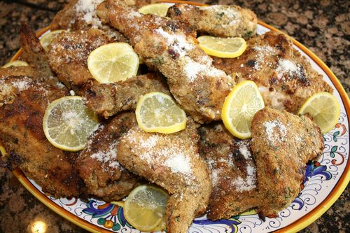 Italian Baked Lemon Chicken