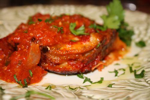 Breaded Eggplant Parmesan