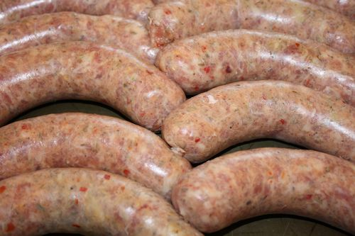 Links of Italian Sausage