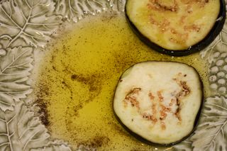 Olive oil and black pepper
