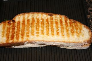 Panini - golden brown!