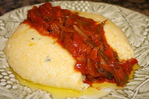 Creamy Cheese Polenta