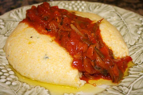 how to cook polenta with milk