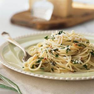 how to cook prawn aglio olio