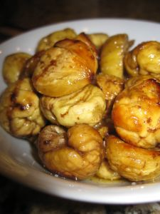 Roasted Butter Lemon Chestnuts